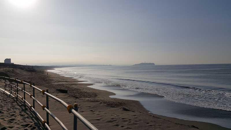 海沿いのランニングコース