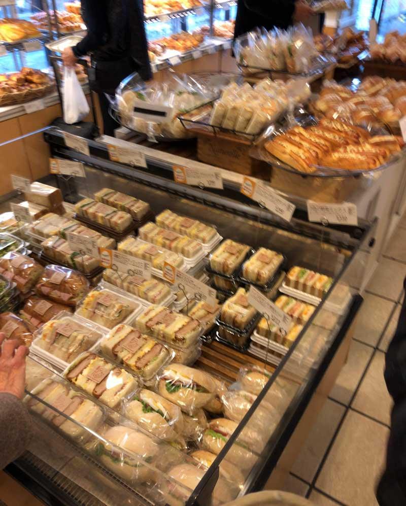 パンの種類がとにかく豊富
