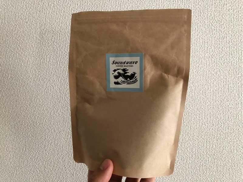 Soundwaveで選んだコーヒー豆