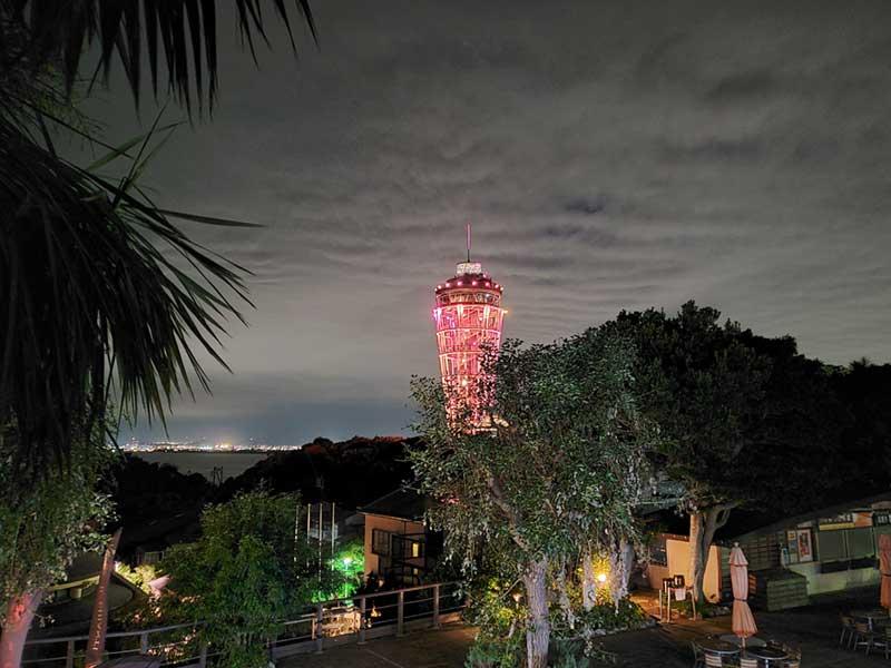 江ノ島の頂上の景色