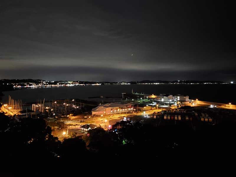 夜景が綺麗だわ