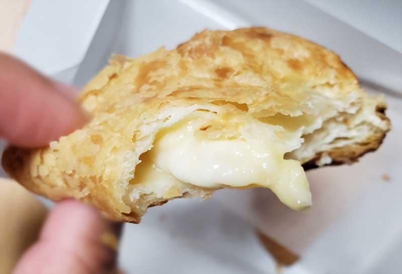 チーズクリームのほんのり塩気がアクセント