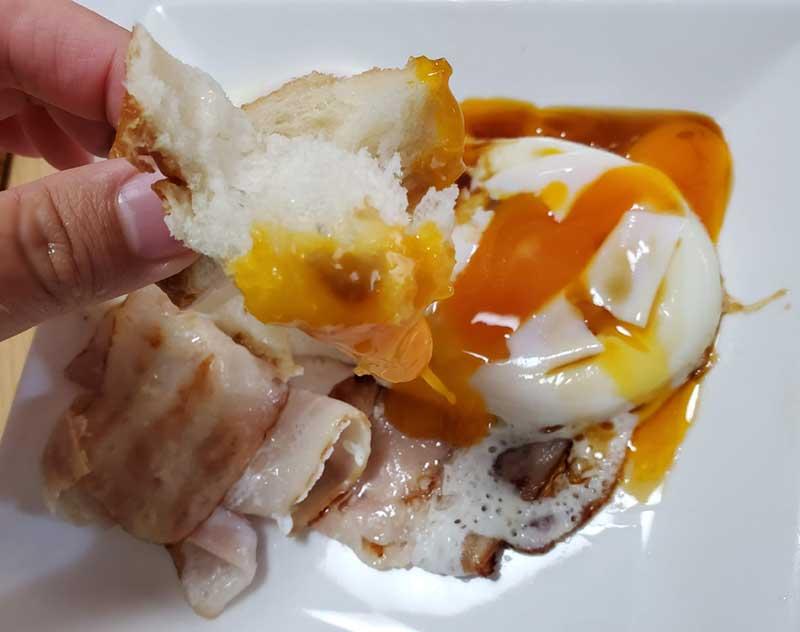 卵の黄身と合う