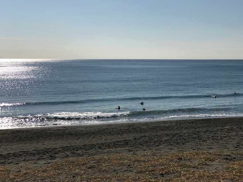 平塚の海から歩いてすぐ
