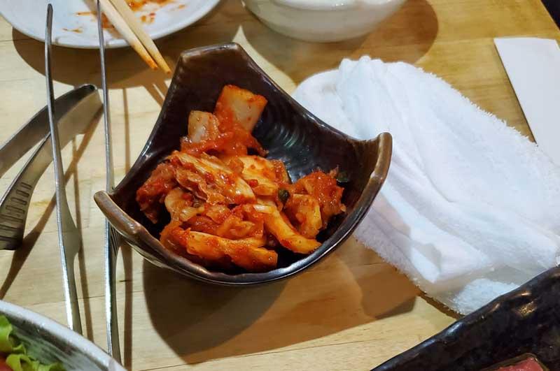 ちょうどいい漬かり具合の白菜キムチ