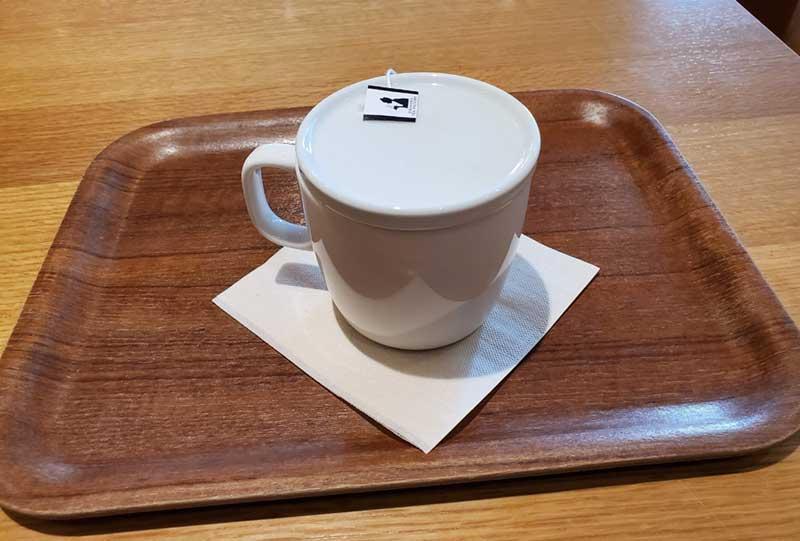 無印カフェのルイボスティー