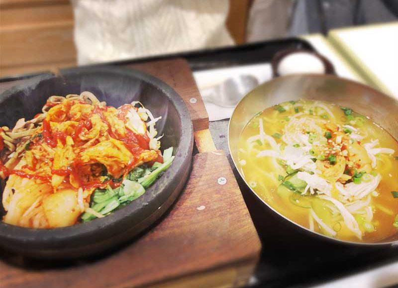 【李家むっとりテラスモール湘南】冷麺と石焼ビビンパのレディースセット1280円がお得過ぎた!
