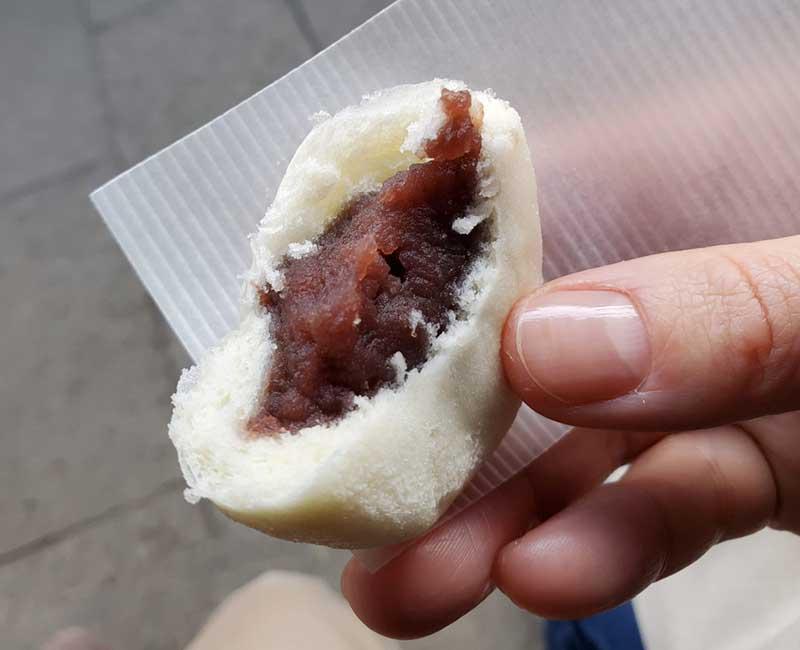 北海道産小豆のこし餡