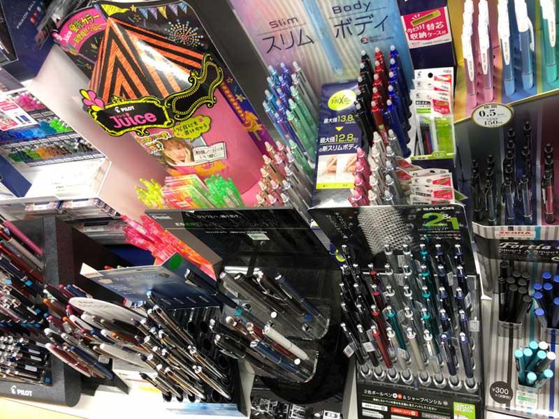 各種ペンも揃っています