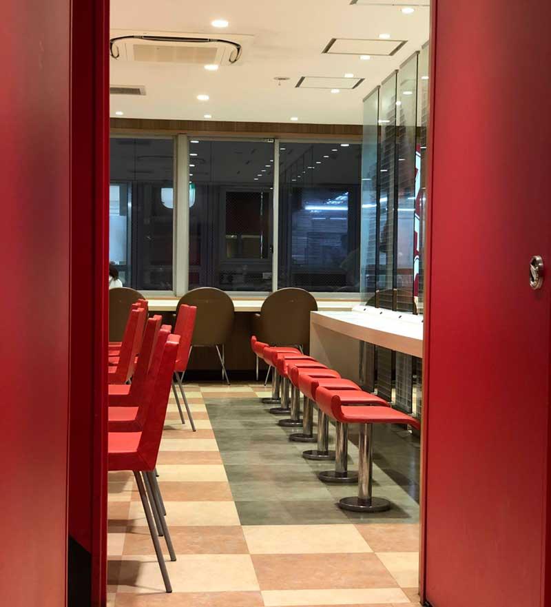 KFC藤沢南口店の3階