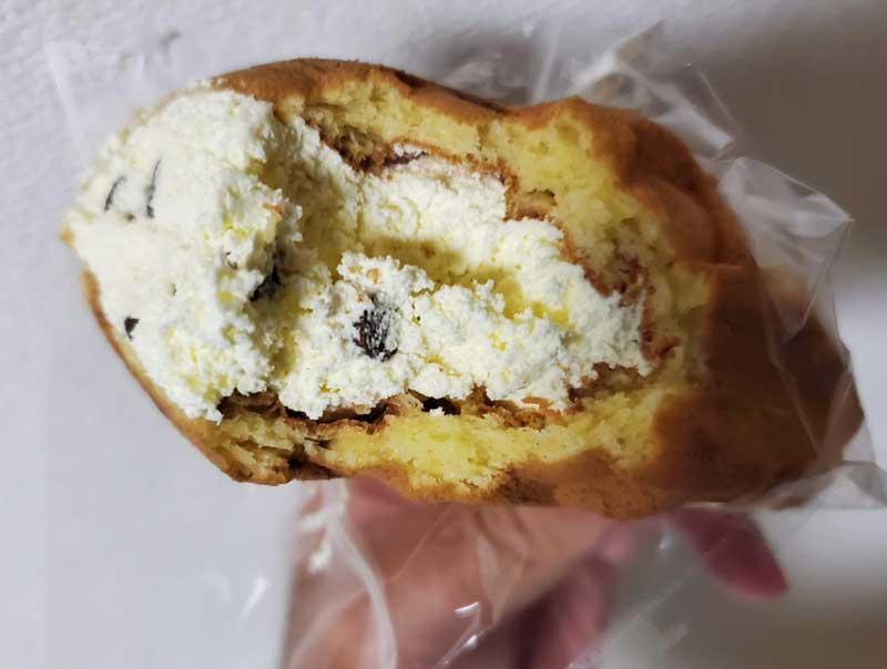 バナナクリームにチョコチップ