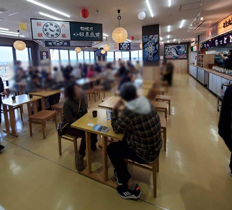 TOTOCO小田原2階フードコート