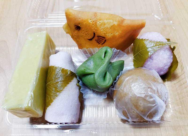 【江ノ電もなかで有名な扇屋】その他メニューもおすすめ!藤沢サツマイモ羊羹!湘南の幸ふく!