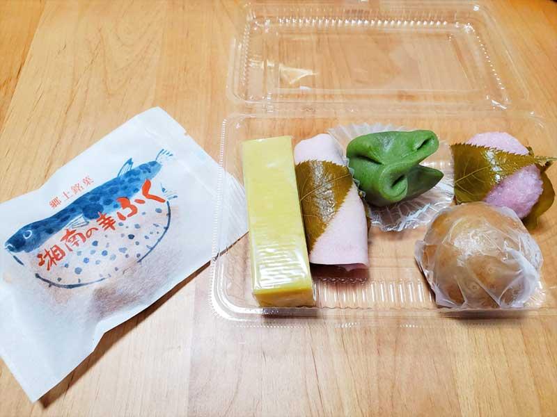扇屋のその他の和菓子メニュー厳選6種