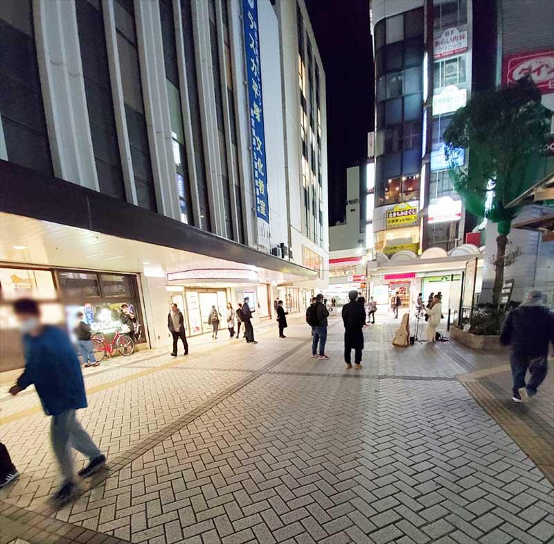 閉店間際の平塚ラスカ