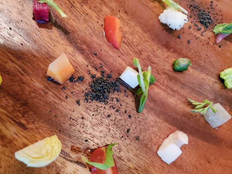 野菜を引き立てるパウダー