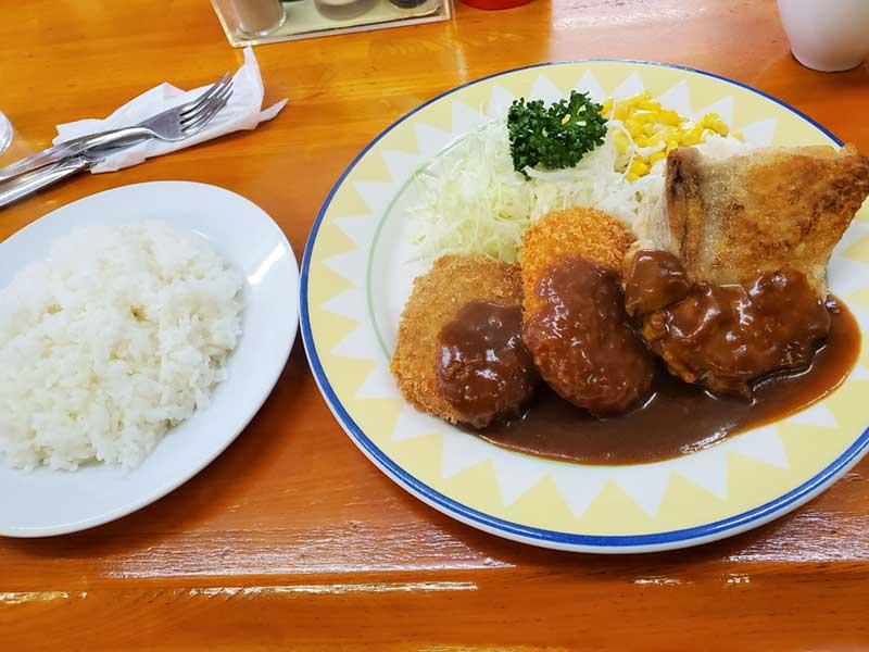 洋食ゾロの高コスパBセット