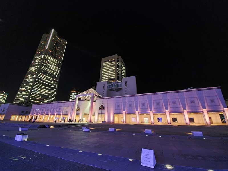 横浜美術館もすぐ近く