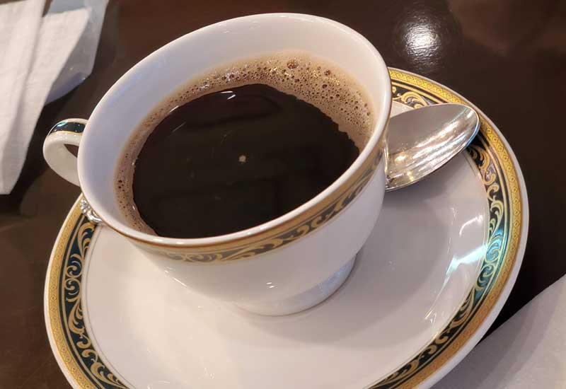 食後はまったりコーヒー