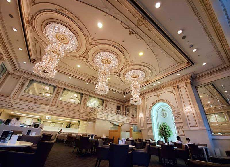 【新横浜で打ち合わせにおすすめな豪華カフェラウンジ】駅前グレイスホテル1Fティーラウンジ「パレグレイス」が最高だった!