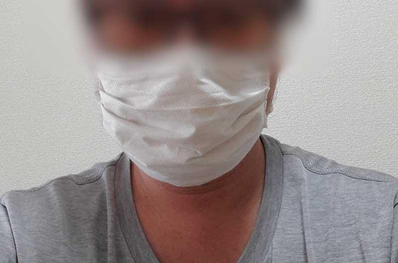 見た目はマスクよりは全然いい