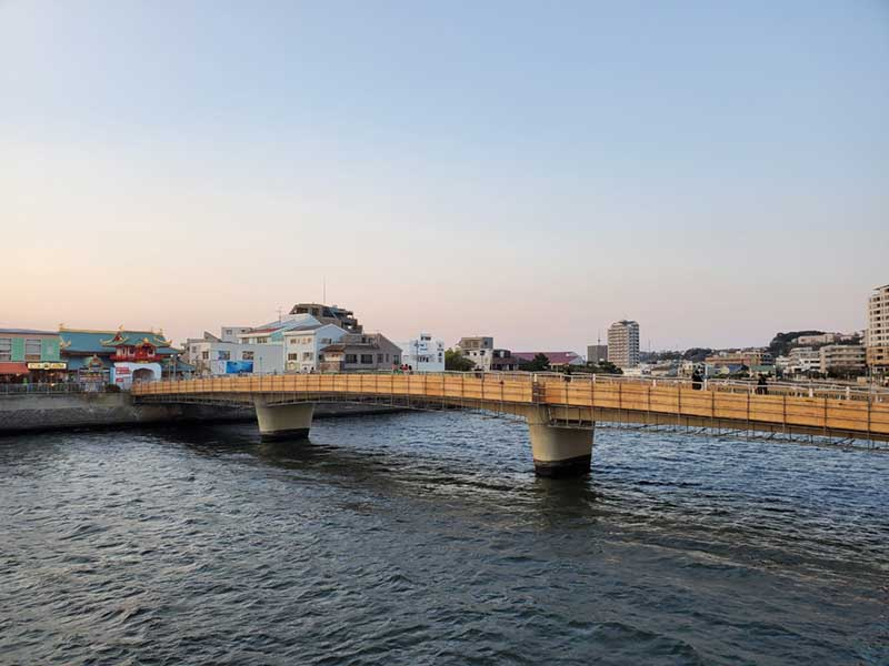 片瀬江ノ島の弁天橋