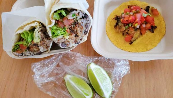 【腰越テイクアウト】アメリカン料理「HOME taco bar」デカ盛りブリトー&本格タコス!