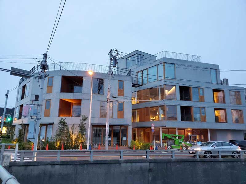 腰越に新しくオープンする「HOTEL AO KAMAKURA」