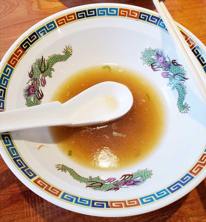 この極上スープをご飯にかけたい