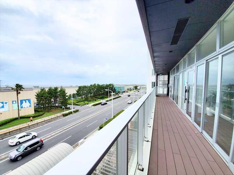 ENOTOKIの3階からの眺望