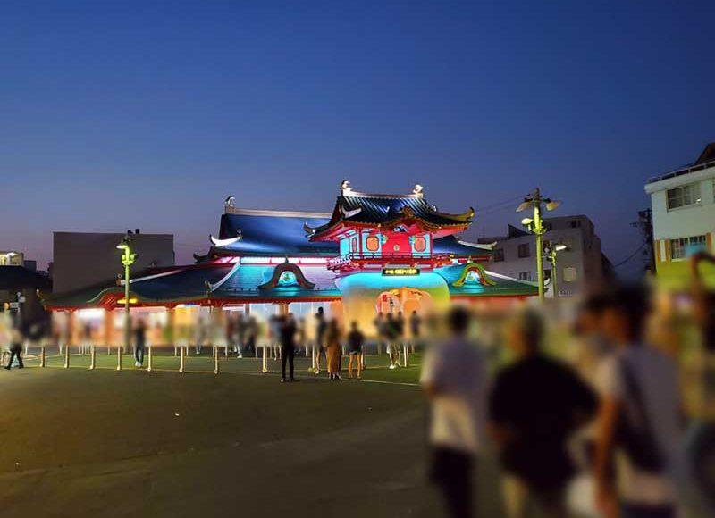 【2020年夏・片瀬東浜・西浜海水浴場の夜の様子】海の家なくても人多い!周辺店は混雑
