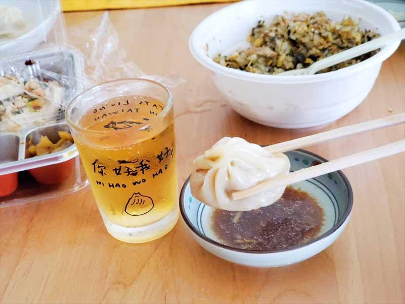 小籠包→よだれ鶏→からしなチャーハン→ビールの無限ループ