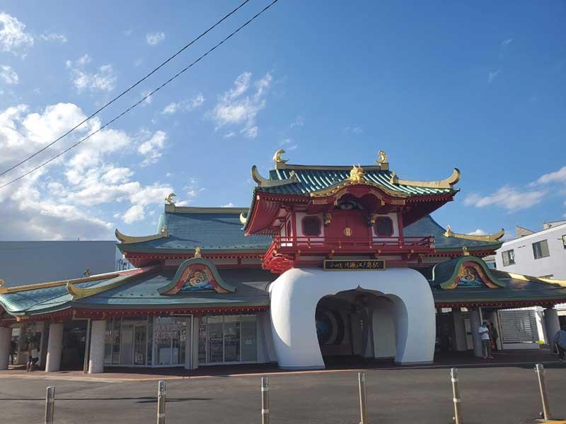 最近大幅リニューアルされた片瀬江ノ島駅
