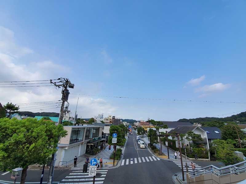 鎌倉駅の南側エリア