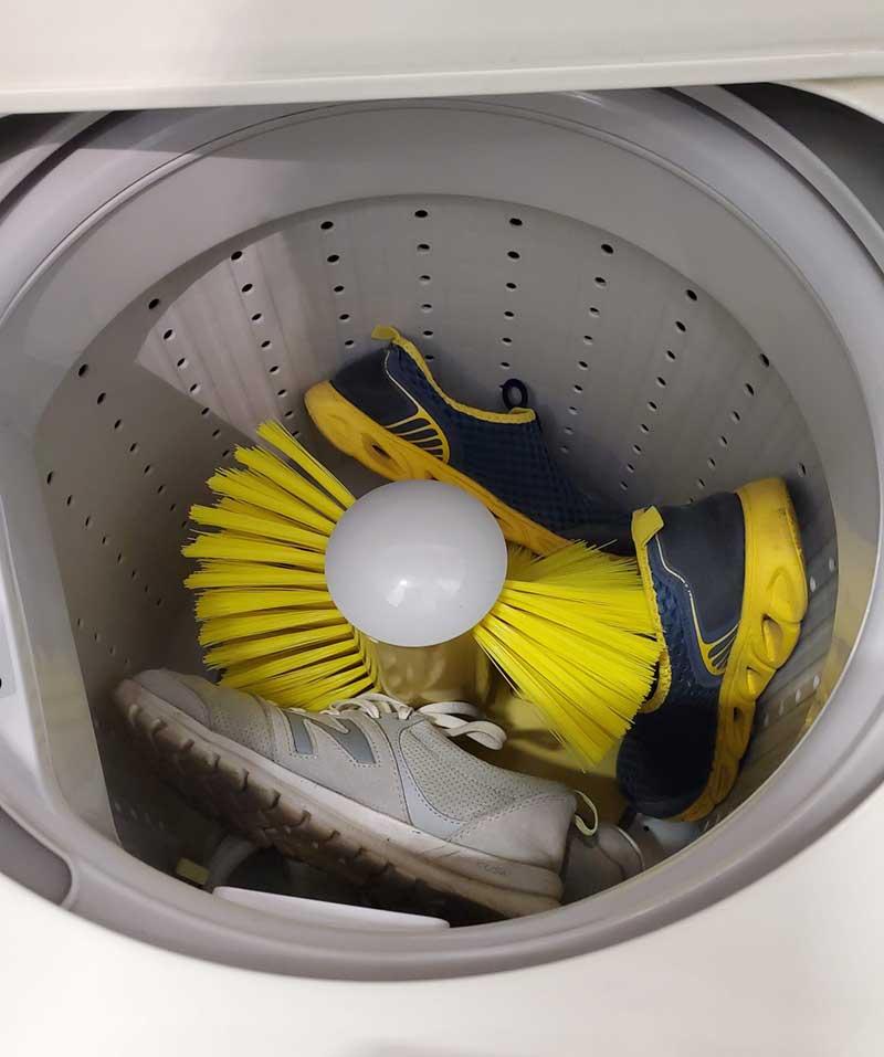 スニーカーも洗濯&乾燥できる