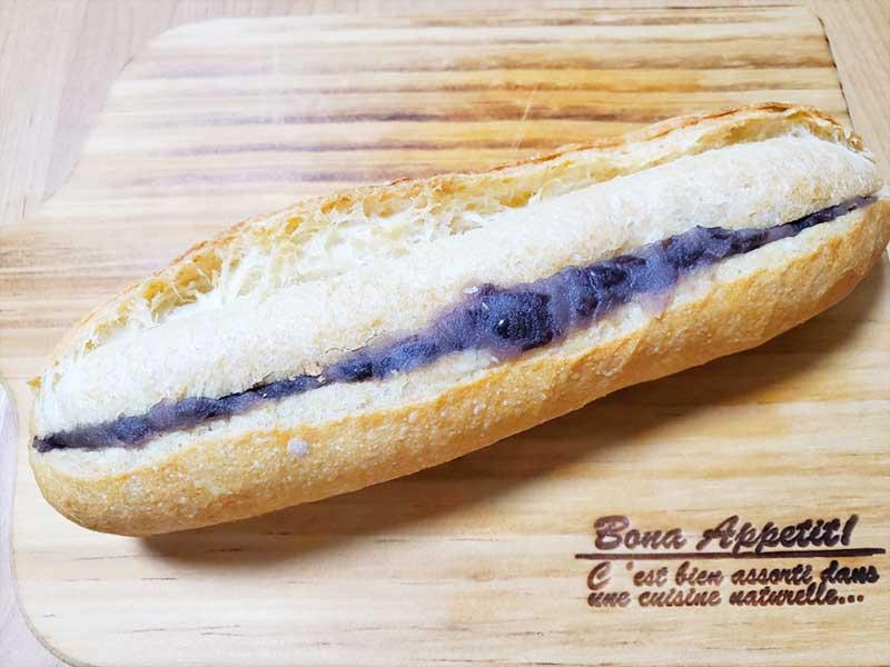 あんバターフランスパン