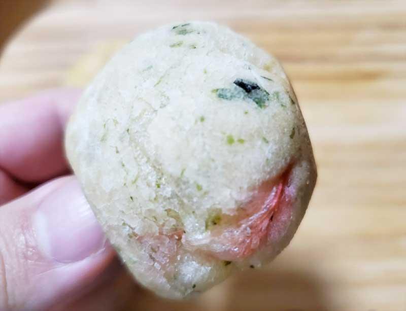 こっちは和風のタコ焼きパン