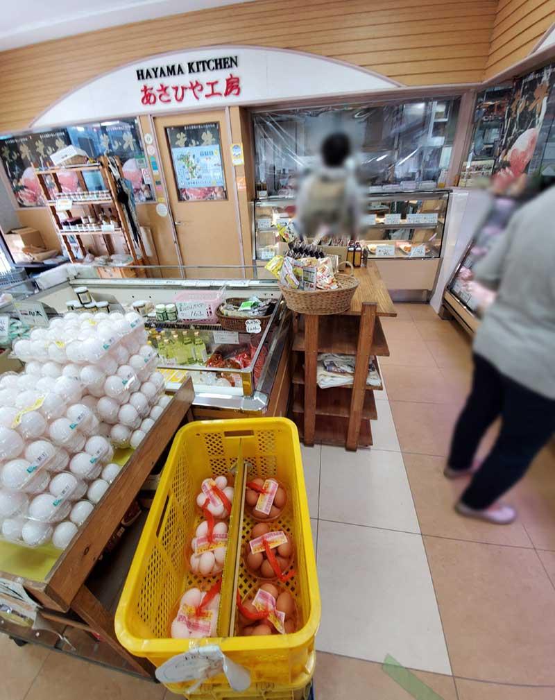 左側は揚げ物惣菜コーナー