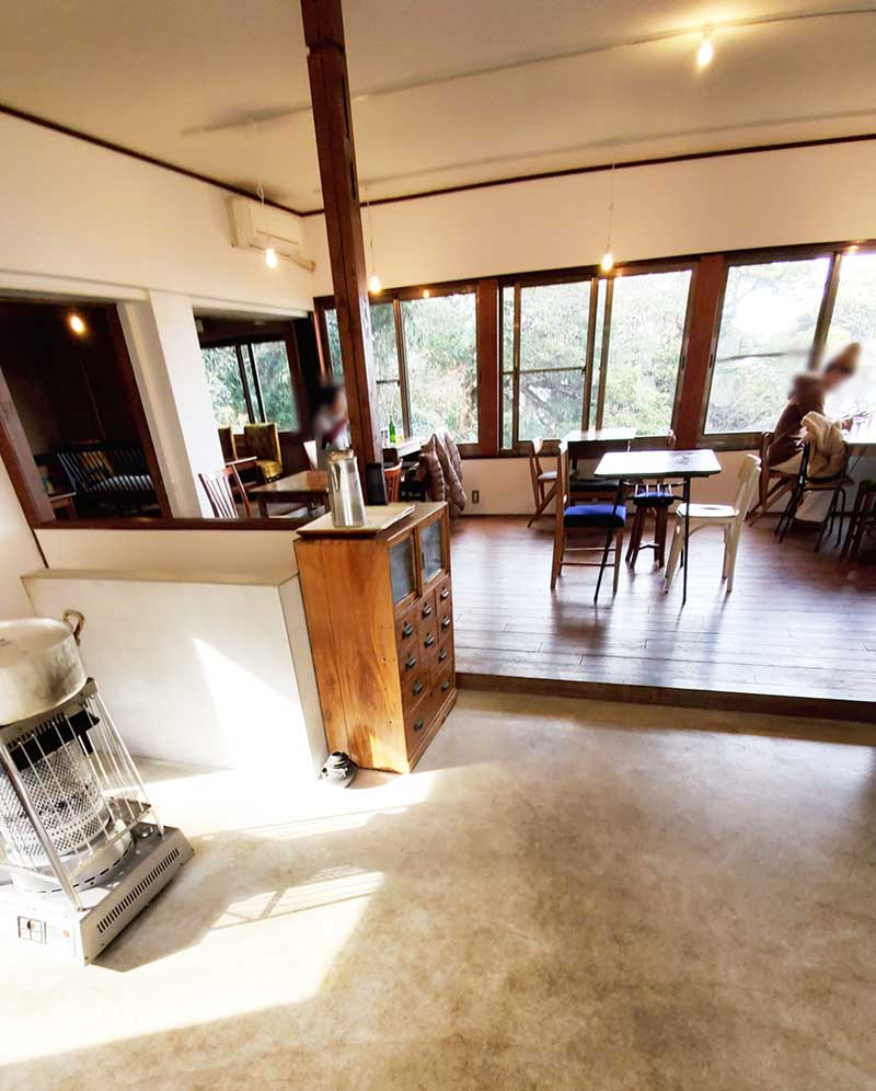 古民家をリノベしたおしゃれカフェ空間