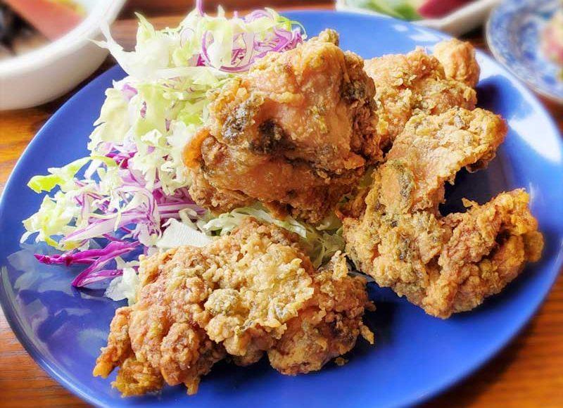 【江ノ島奥津宮近く・料理が美味しい古民家カフェ「㠀舎TOUSHA」】名物の山椒と生海苔の鶏唐揚定食が絶品!海鮮丼お得過ぎる!