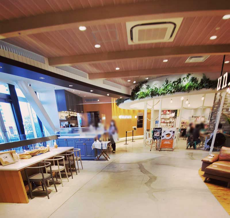 3階家具コーナーの一角にある穴場カフェ「スーホルムカフェ」