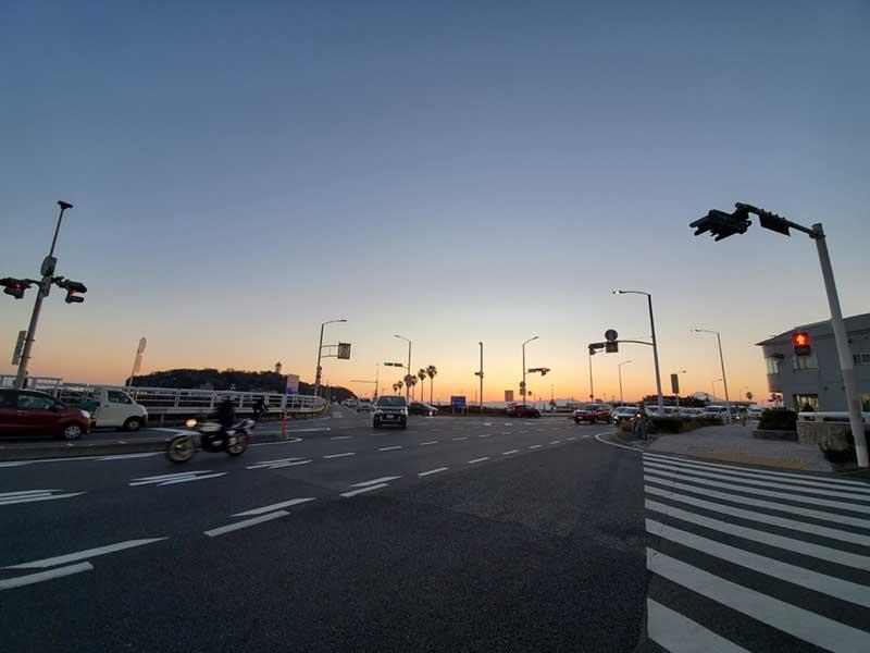 ビュータワーからは江ノ島と富士山が見える
