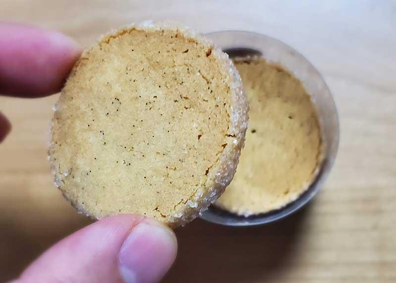 オーソドックスなクッキー