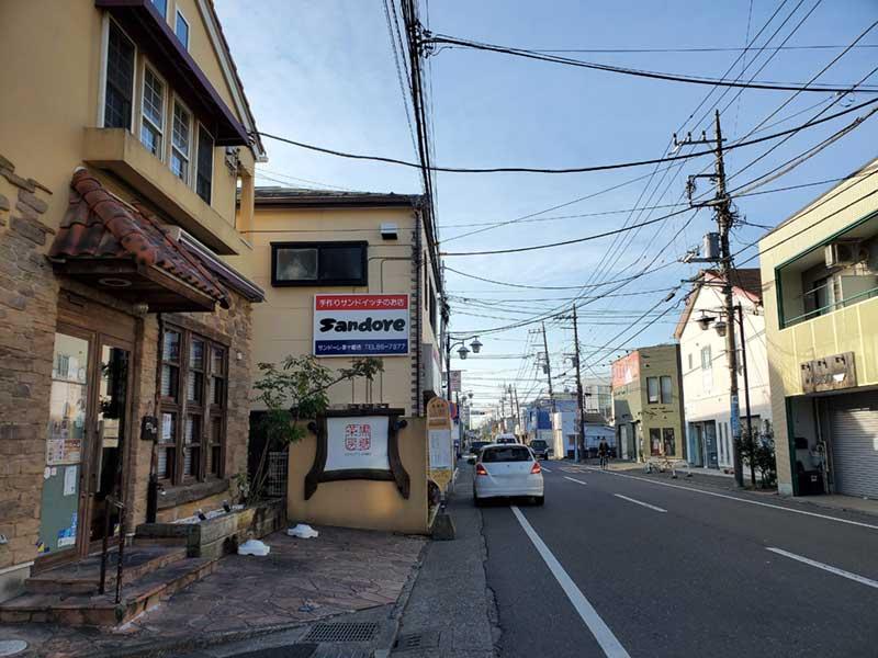 この先は茅ヶ崎海岸です