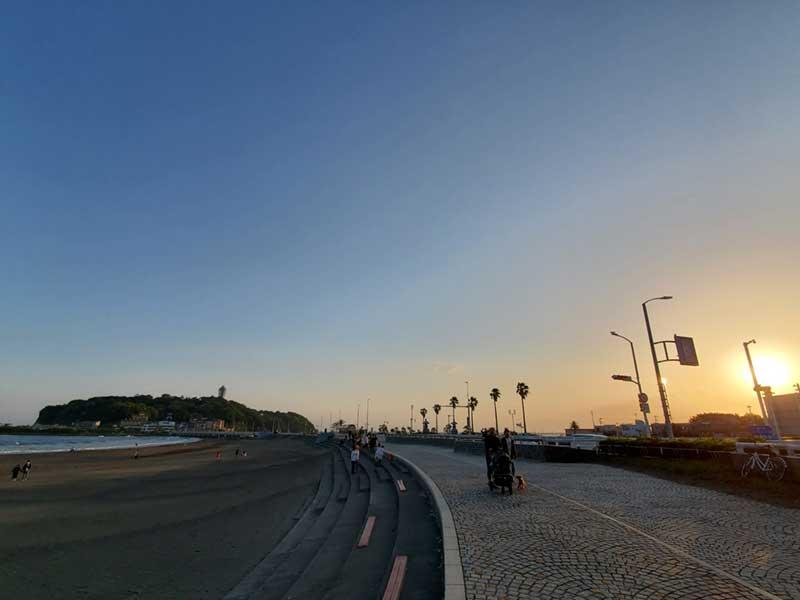 2021年GWの片瀬海岸東浜