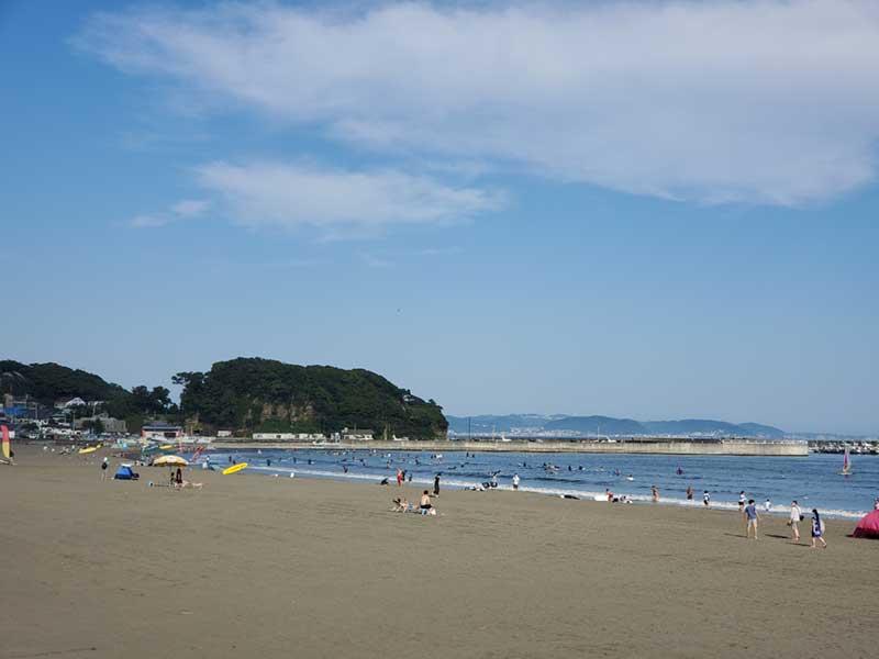 隣の越後海岸は空いていますが