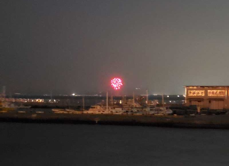 【2021年7月7日・平塚シークレット花火】七夕祭は中止でもサプライズ花火が上がったよ!