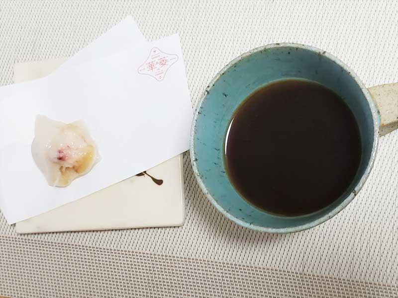 洋風なのでコーヒーが合う