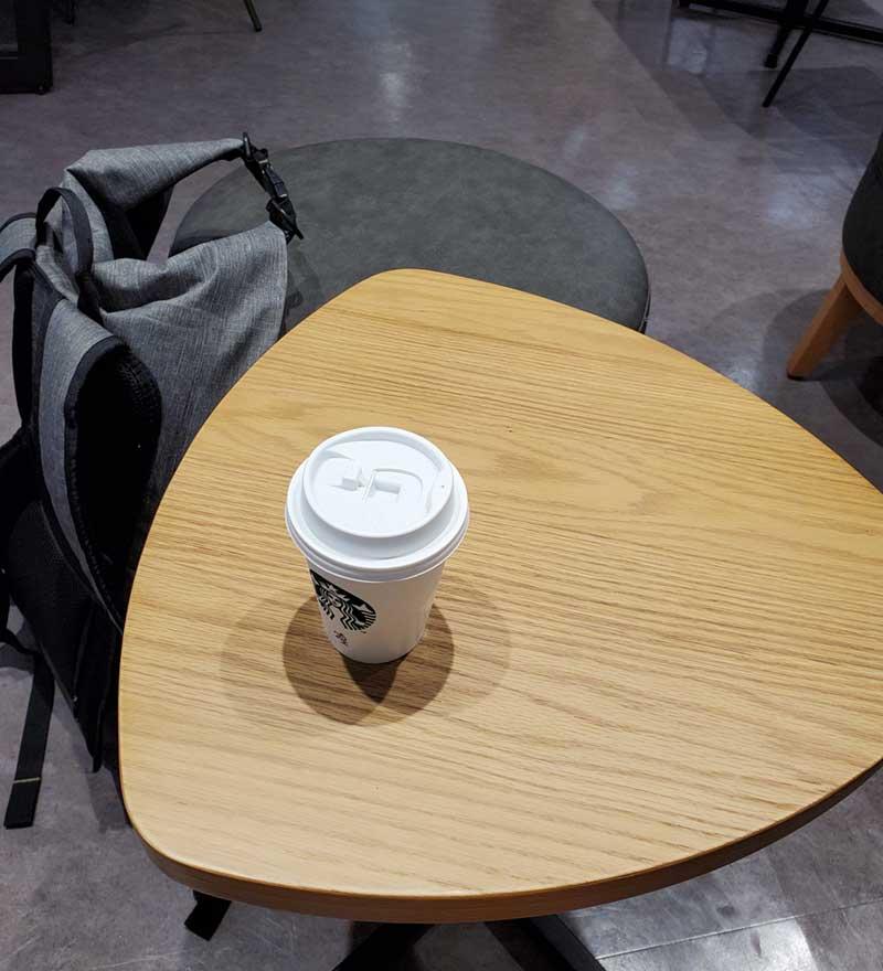 いつものアイスコーヒーで一服